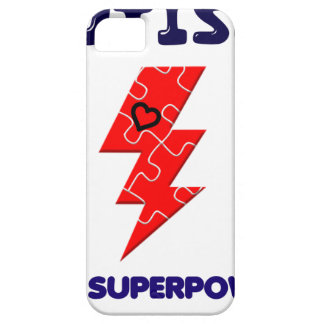 Autism is superpower, mental condition health mind iPhone 5 cover