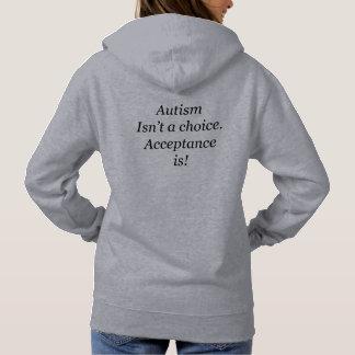 Autism isn't a choice hoodie