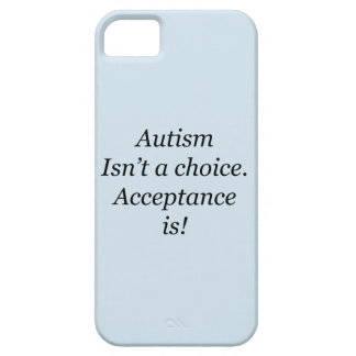 Autism isn't a choice iPhone 5 cover