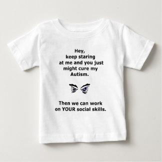 Autism/KeepStaring Baby T-Shirt