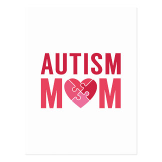 Autism Mom Postcard
