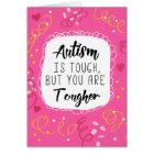 Autism Mum Mother Support Encouragement Awareness Card