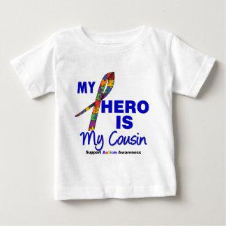 Autism My Hero is My Cousin Baby T-Shirt