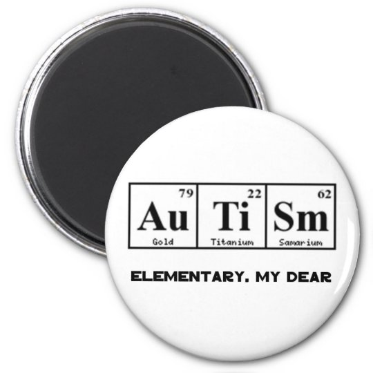Autism periodic table elements sherlock holmes magnet zazzle autism periodic table elements sherlock holmes magnet urtaz Gallery
