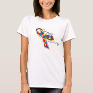 Autism Pride - I Get Flappy When I'm Happy T-Shirt