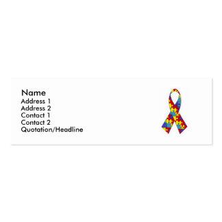 Autism Profile Card Business Cards