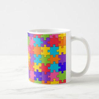 autism puzzle coffee mug