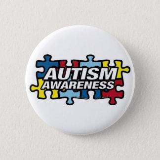 autism-puzzle-magnet 6 cm round badge
