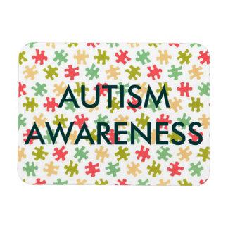 Autism Puzzle Pieces Magnet Personalized