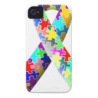 Autism Puzzle Ribbon Case-Mate iPhone 4 Case