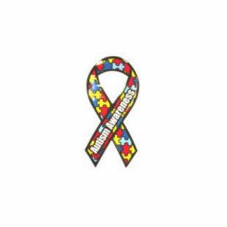 autism ribbon photo sculpture