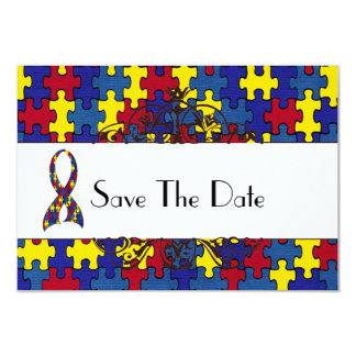 Autism Save The Date Card