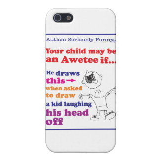 Autism Seriously Funny Merchandise iPhone 5/5S Cover