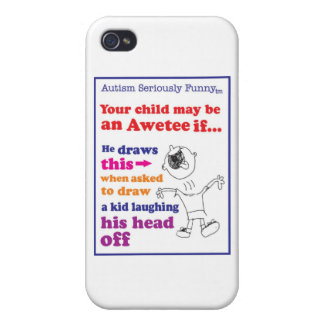 Autism Seriously Funny Merchandise iPhone 4 Cases