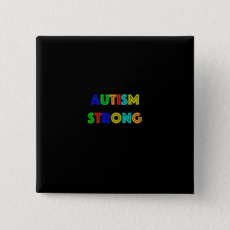 Autism Strong Button