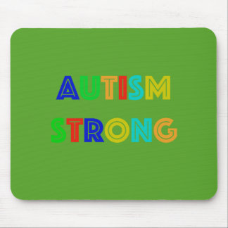 Autism Strong Mouse Pad