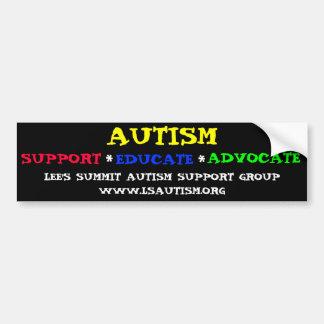 Autism Support Bumper Sticker