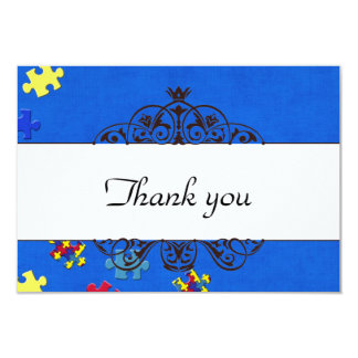 Autism Thank you Card