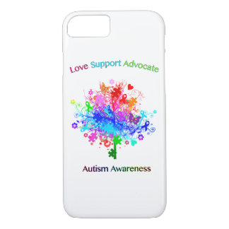 Autism Tree in Spectrum iPhone 8/7 Case