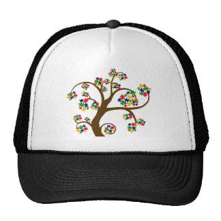 Autism Tree of Life Hats