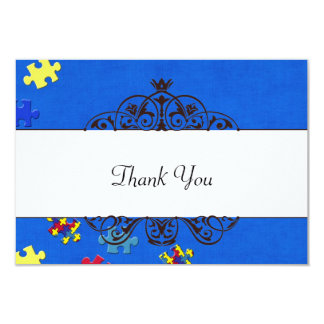 AutismThank you Card
