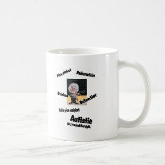 Autistic Einstien Coffee Mug