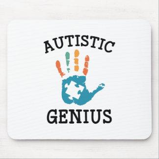 Autistic Genius Mouse Pad