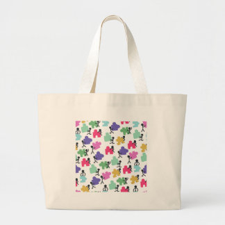 autistic people large tote bag