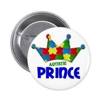 Autistic Prince 1 AUTISM 6 Cm Round Badge