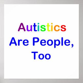 Autistics Are People, Too Print