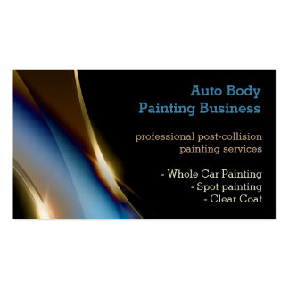 2000 painter business cards and painter business card for Professional painter business card