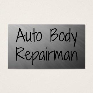 Auto Body Repairman Business Card