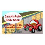 Auto Body Shop Business Card