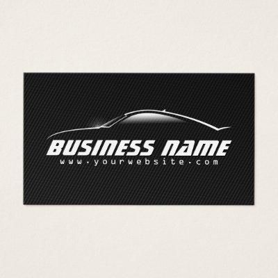 Car rental repair profile business card template zazzle reheart Choice Image