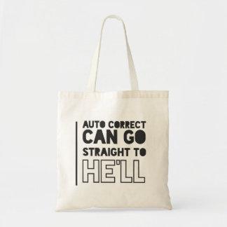 Auto Correct FUNNY/HUMOUR Tote Bag