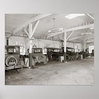 Auto Dealer Repair Shop 1926 Print
