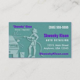 Car Wash Detailing Business Cards Zazzle Au