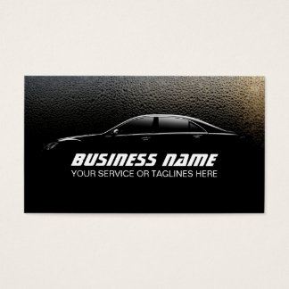 Auto Detailing Water Drops Professional Car
