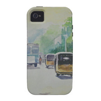 Auto - Indian Taxi iPhone 4 Covers