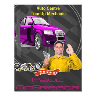 Auto It centers - TuneUp Mechanic Flyer