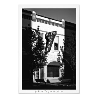 "Auto Loans | El Paso Architecture Series 13"" x 19"" Photo Print"