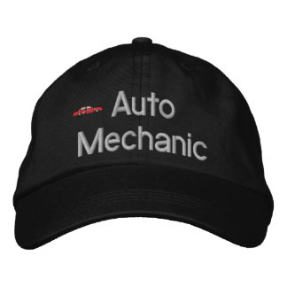 Auto Mechanic Embroidered Hat