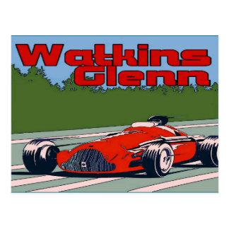 Auto Racer, Watkins Glenn Postcard