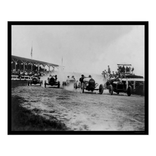 Auto Racing Near Washington, DC 1922 Poster