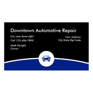 Auto Repair Double-Sided Standard Business Cards (Pack Of 100)