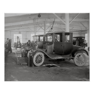 Auto Repair Garage, 1926 Posters
