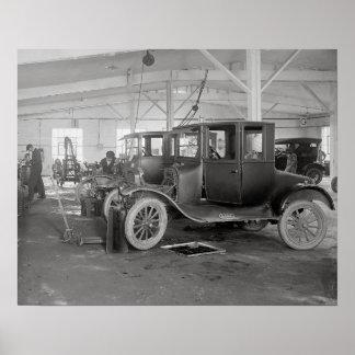 Auto Repair Garage 1926 Posters