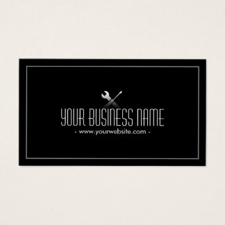 Auto Repair Handyman Professional Business Card