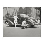 Auto Repair Service, 1942 Gallery Wrapped Canvas