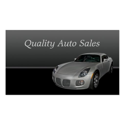 Auto sales and service business card template zazzle for Auto sales business cards